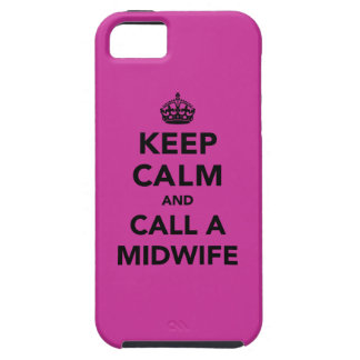 Keep Calm and Call a Midwife iPhone SE/5/5s Case