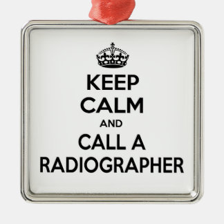 Keep Calm and Call a Radiographer Ornaments