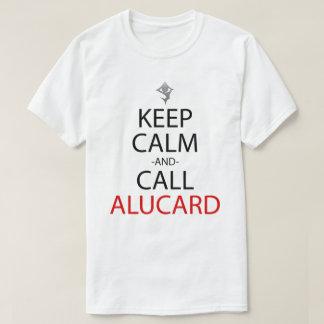 Keep Calm And Call Alucard Anime Manga Shirt