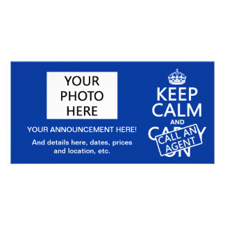 Keep Calm and Call An Agent Card