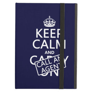 Keep Calm and Call An Agent Case For iPad Air