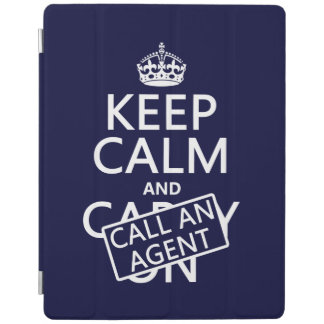 Keep Calm and Call An Agent iPad Smart Cover