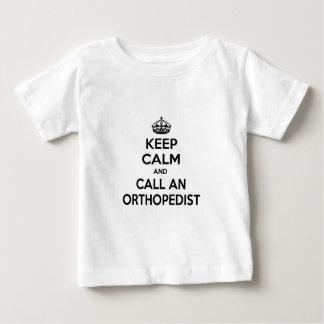 Keep Calm and Call an Orthopedist Baby T-Shirt