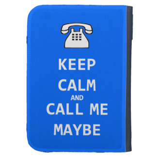Keep calm and call me maybe Caseable Kindle Folio Kindle Cases