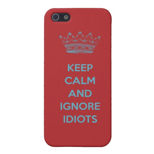 KEEP  CALM AND CALL SOME1 iPhone SE/5/5s COVER