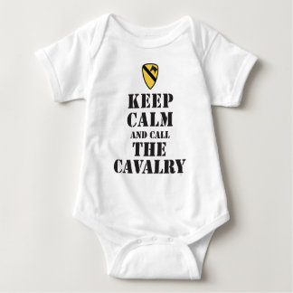 KEEP CALM AND CALL THE CAVALRY T-SHIRT