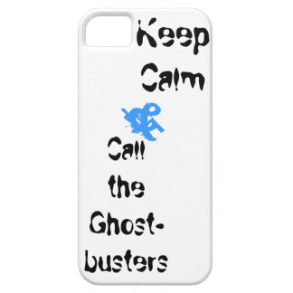 Keep Calm and Call the Ghostbusters iphone case