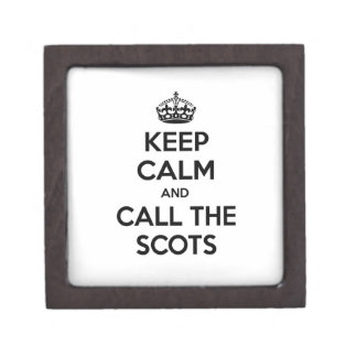 Keep Calm and Call The Scots Premium Gift Box