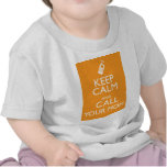 KEEP CALM AND CALL YOUR MOM T-SHIRT