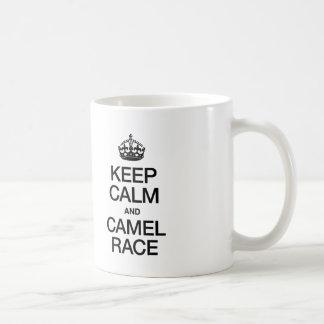 KEEP CALM AND CAMEL RACE COFFEE MUG