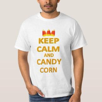 Keep Calm and Candy Corn Halloween T-Shirt