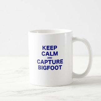 Keep Calm and Capture Bigfoot Coffee Mug