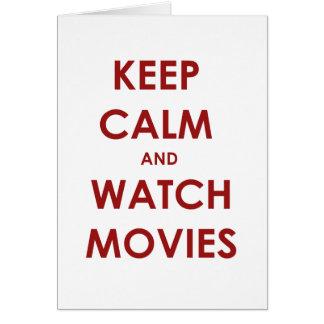 Keep calm and... card