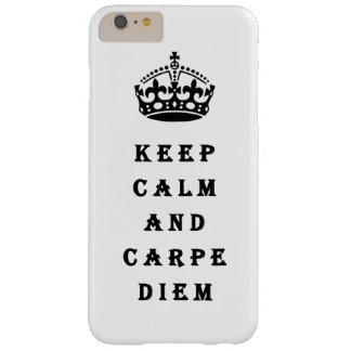 Keep Calm And Carpe Diem phone case