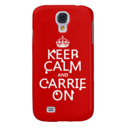 Case-Mate Barely There Samsung Galaxy S4 Case with Keep Calm and Carrie On design