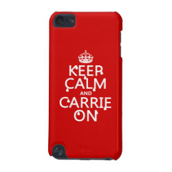 Case-Mate Barely There 5th Generation iPod Touch Case with Keep Calm and Carrie On design