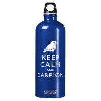 Keep Calm & Carrion (crow) SIGG Traveller Water Bottle (0.6L)
