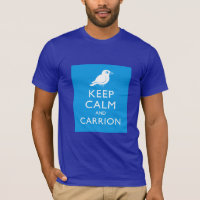 Keep Calm & Carrion (crow) Men's Basic American Apparel T-Shirt