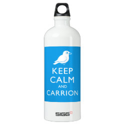 SIGG Traveller Water Bottle (0.6L) with Keep Calm and Carrion design