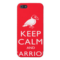 Keep Calm and Carrion Case Savvy iPhone 5 Matte Finish Case