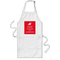 Keep Calm and Carrion Long Apron