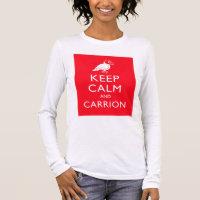 Keep Calm and Carrion Women's Basic Long Sleeve T-Shirt