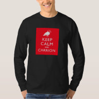 Keep Calm and Carrion Men's Basic Long Sleeve T-Shirt