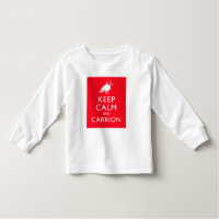 Keep Calm and Carrion Toddler Long Sleeve T-Shirt