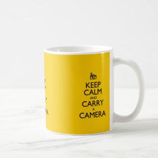 Keep Calm and Carry a Camera Coffee Mug