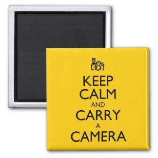 Keep Calm and Carry a Camera Magnet