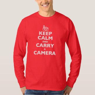 Keep Calm and Carry a Camera Shirt