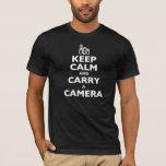 Keep Calm and Carry a Camera T-Shirt