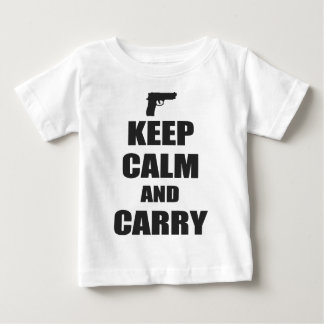 Keep Calm and Carry Baby T-Shirt