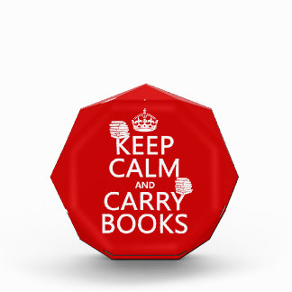 Keep Calm and Carry Books (in any color) Award