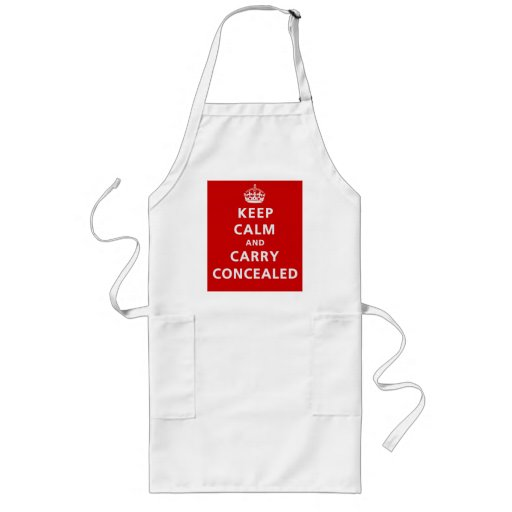 Keep Calm and Carry Concealed Aprons