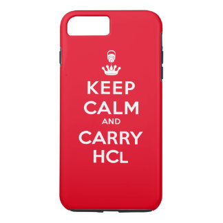 Keep Calm and Carry HCl iPhone 7 Plus Case