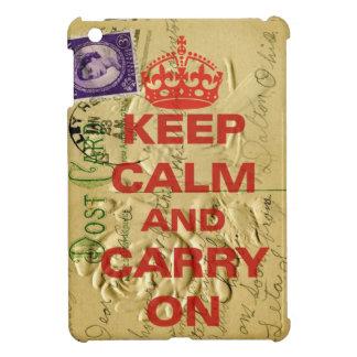 Keep calm and carry iPad mini covers