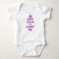 Keep Calm and Carry Me Creeper - Purple