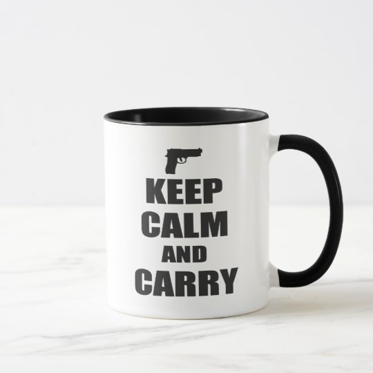 Keep Calm and Carry Mug