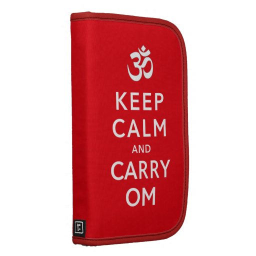 Keep Calm and Carry Om Smartphone Planner