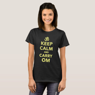 Keep Calm and Carry Om T-Shirt
