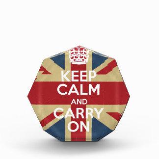 Keep Calm And Carry On Award
