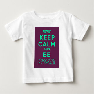 Keep Calm and Carry On Be Swag Sunglasses T-shirt