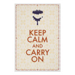 Keep Calm And Carry On by Jason Lind Posters