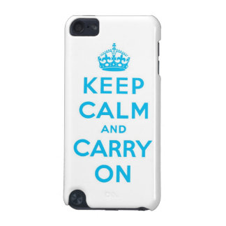 keep calm and carry on iPod touch (5th generation) case