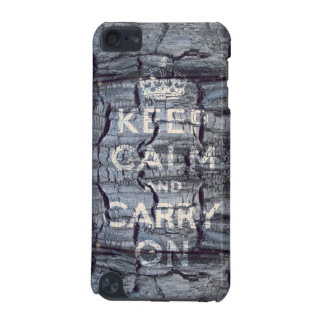 keep calm and carry on iPod touch (5th generation) cases