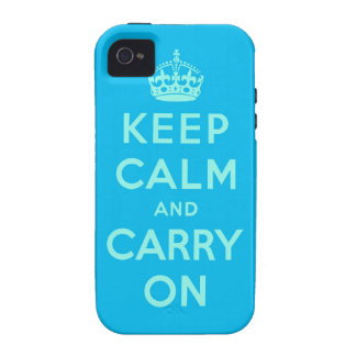 keep calm and carry on vibe iPhone 4 covers