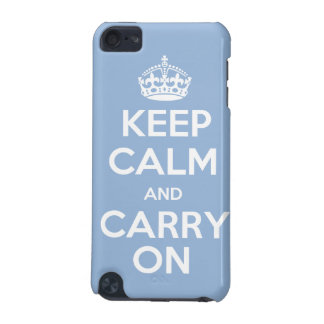 Keep Calm and Carry On iPod Touch (5th Generation) Cover