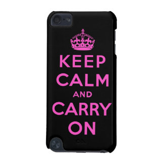 keep calm and carry on iPod touch (5th generation) covers