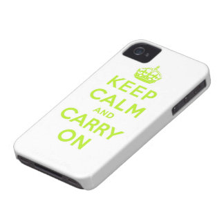 keep calm and carry on Case-Mate blackberry case